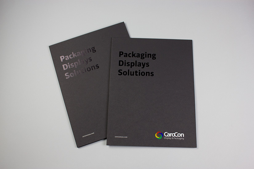 CaroCon Corporation Sales Kit |Red Letter Marketing
