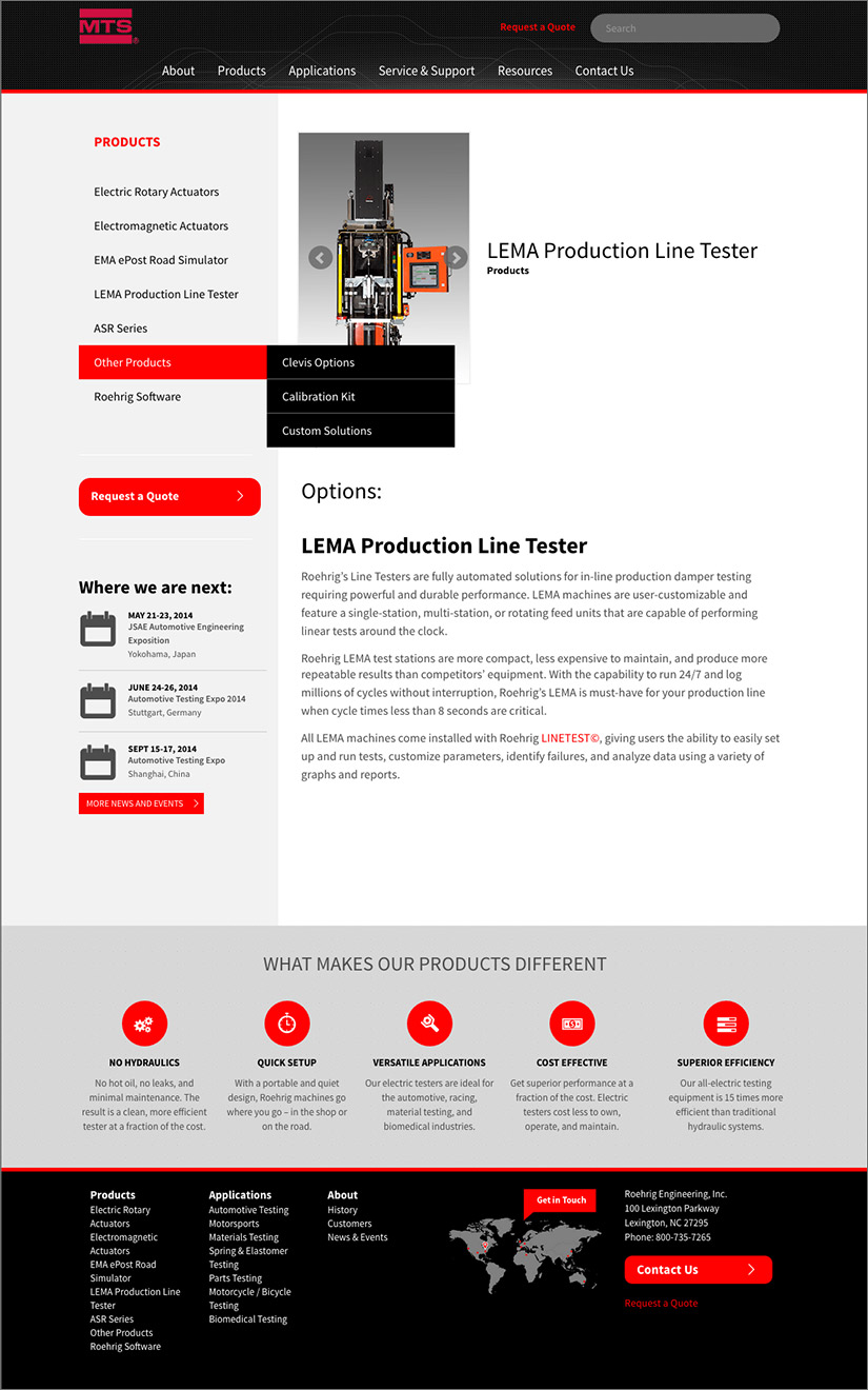 Roehrig Engineering, Inc. Website | Red Letter Marketing