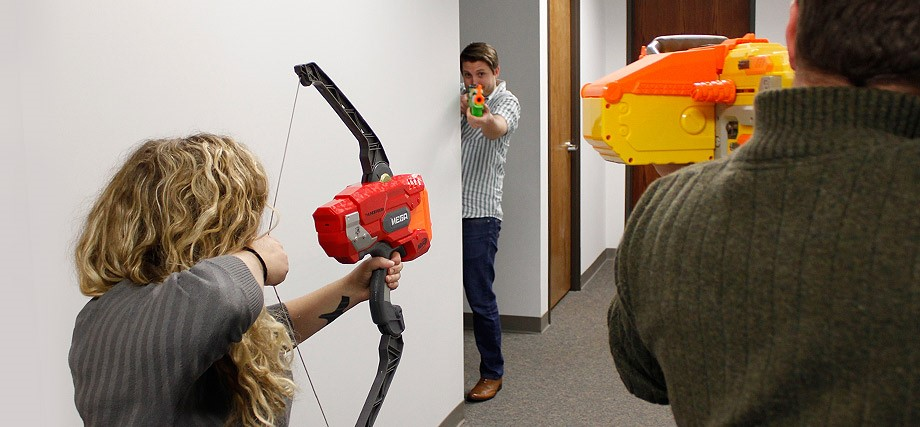 Nerf War | Red Letter Marketing