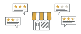 Get more positive reviews for your website or business. Improve your reputation online and win more customers.