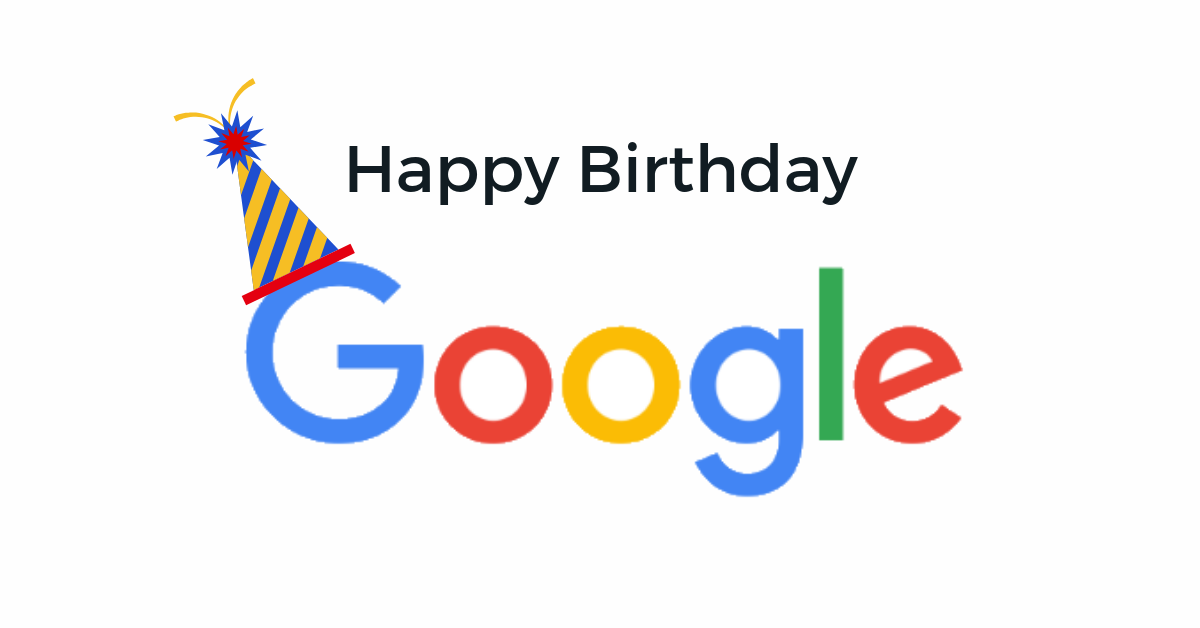 Google's 20th Anniversary Doodle