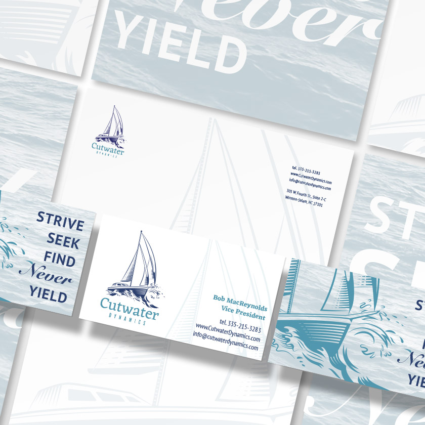 Cutwater Stationery | Red Letter Marketing